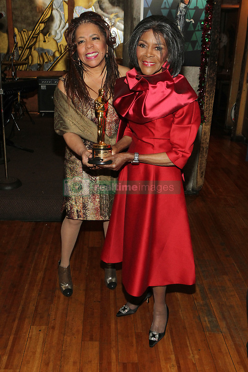 Cicely Tyson Private Lifetime OSCAR Party hosted by Designer b. Michaels and Recording Artist Valerie Simpson held at Ashford & Simpson's Sugar Bar. 08 Dec 2018 Pictured: Valerie Simpson and Cicely Tyson. Photo credit: MPI43/Capital Pictures / MEGA TheMegaAgency.com +1 888 505 6342
