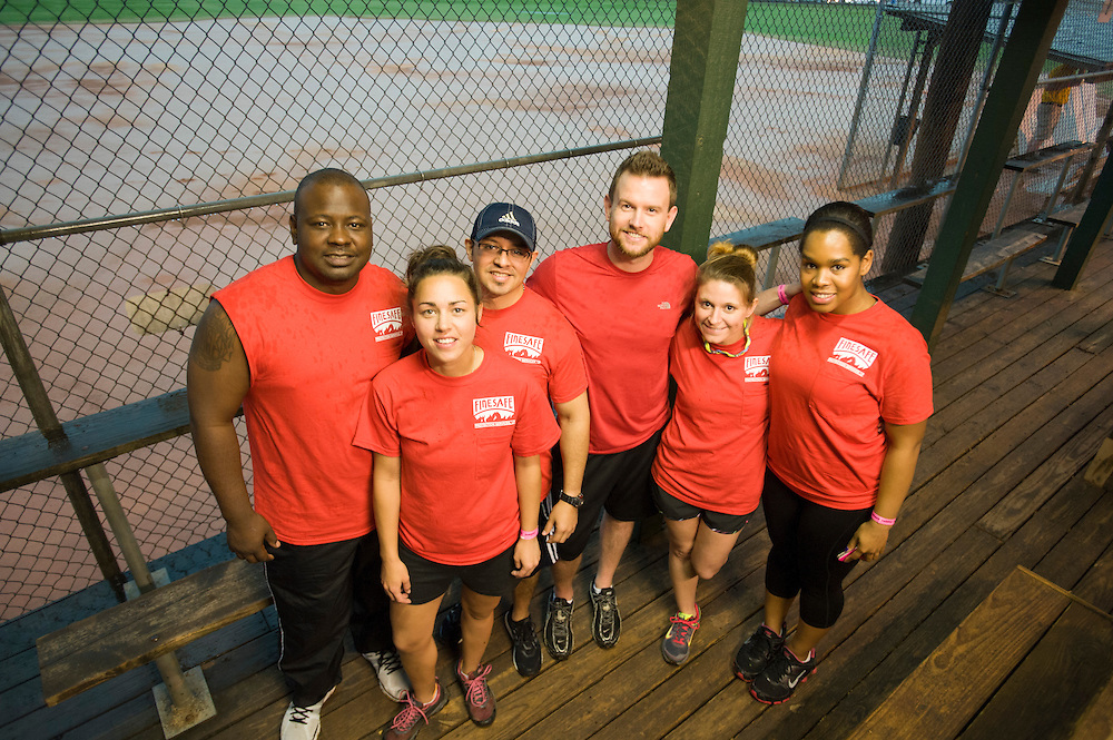 Photograph from the 2013 Houston Apartment Association Sports Challenge event on Friday, May 10, at the Houston Sportsplex on Highway 90.
