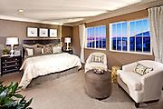 Master Bedroom Interior Design for Model Home