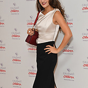 Frankie Poultney attends the Children's charity hosts fashion and beauty lunch event, with live entertainment at The Dorchester, London, UK. 12 October 2018.
