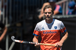 Mirco Pruyser of The Netherlands during the Champions Trophy finale between the Netherlands and Argentina on the fields of BH&BC Breda on Juli 1, 2018 in Breda, the Netherlands.