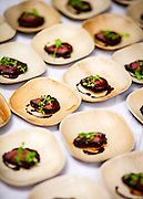 The Oakroom's cocoa and coffee rubbed venison during Chocolate Dreams, GuardiaCare's largest annual fundraiser, at The Point in Butchertown.