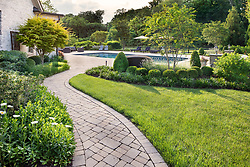 40737 Grenata Exterior landscaping with pool
