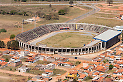 Pouso Alegre_MG, Brasil...Imagem aerea do terceiro maior estadio de Minas Gerais, o Estadio Municipal Irmao Gino Rossi em Pouso Alegre...The Aerial view of the third largest stadium in Minas Gerais, the Municipal Stadium Irmao Gino Rossi in Pouso Alegre...FOTO: LEO DRUMOND / NITRO
