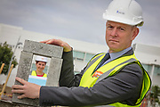 NO FEE PICTURES<br />13/7/18 Irish Life has formally broken ground on its new Customer Centre in Dundalk, Co Louth. The building has been designed by leading Dublin based architects, wejchert Architects and is being delivered by main contractor Stewart Construction. The new site area is 1.6 hectares with an office size of 45,000 sq ft. It is expected that over 200 construction workers will be on site during the construction phase of the project, which will be a significant boost to local employment in the Dundalk Area. Pictured are : Aine Cassidy, Excutive Manager, Dundalk Office, David Harney, CEO Irish. Picture :Arthur Carron