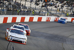 April 20, 2018 - Richmond, Virginia, United States of America - April 20, 2018 - Richmond, Virginia, USA: Spencer Gallagher (23) brings his race car down the front stretch during the ToyotaCare 250 at Richmond Raceway in Richmond, Virginia. (Credit Image: © Chris Owens Asp Inc/ASP via ZUMA Wire)