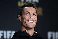 Zurich (Svizzera) 11/01/2016 - Fifa Ballon d'Or 2015 Pallone d'Oro / foto Matteo Gribaudi/Image Sport/Insidefoto<br />nella foto: Cristiano Ronaldo