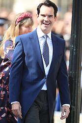 Comedian Jimmy Carr arriving at York Minster for the wedding of singer Ellie Goulding to Caspar Jopling.