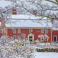 New England winter photography of the Longfellow's Wayside Inn at the Wayside Inn Historic District. This local New England landmark is in Sudbury, Massachusetts. <br /> <br /> Longfellow's Wayside Inn at the Wayside Inn Historic District winter photos are available as museum quality photo, canvas, acrylic, wood or metal prints. Wall art prints may be framed and matted to the individual liking and interior design decoration needs:<br /> <br /> https://juergen-roth.pixels.com/featured/longfellows-wayside-inn-juergen-roth.html<br /> <br /> Good light and happy photo making!<br /> <br /> My best,<br /> <br /> Juergen