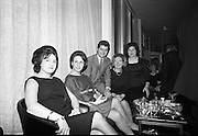 "At a restaurant on the 11th floor of the O'Connell Bridge House, the Miami Showband host a reception for their latest release, ""Wishing it was you"", and also to mark their third anniversary of the group as a professional showband..29.11.1965"