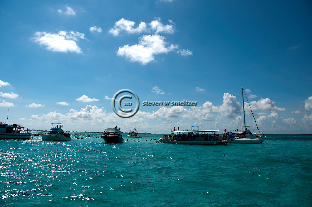 Stingray City, Grand Cayman, Snorkeling with Stingrays