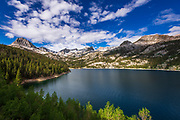 South Lake, John Muir Wilderness, Sierra Nevada Mountains, California USA