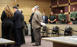 Nikolas Cruz is arraigned on Wednesday, March 14, 2018 at the Broward County Courthouse in Fort Lauderdale, Fla. Cruz is accused of opening fire at Marjory Stoneman Douglas High School in Parkland on Feb. 14, killing 17 students and adults. Photo by Amy Beth Bennett/Sun Sentinel/TNS/ABACAPRESS.COM