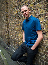© London News Pictures. 29/10/2015. Two time winner of the Tour de France, CHRIS FROOME,  pictured in Moorgate, east London. . Photo credit: Ben Cawthra/LNP