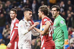 January 24, 2019 - Madrid, Spain - Dani Ceballos (midfielder; Real Madrid) in action during Copa del Rey, Quarter Final match between Real Madrid and Girona FC at Santiago Bernabeu Stadium on January 24, 2019 in Madrid, Spain (Credit Image: © Jack Abuin/ZUMA Wire)