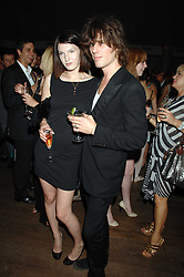 BEN GRIMES and JACKSON SCOTT at a party to celebrate the launch of the Boodles Wonderland jewellery collection held at the Haymarket Hotel, 1 Suffolk Place, London on 9th June 2008.<br /><br />NON EXCLUSIVE - WORLD RIGHTS