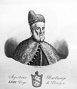 Portrait of Agostino Barbarigo 1501. The Venetian Doge.