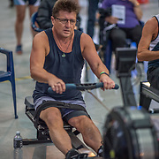 Anthony Spijkerman MALE LIGHTWEIGHT Masters F 1K Race #10  11:30am<br /> <br /> <br /> www.rowingcelebration.com Competing on Concept 2 ergometers at the 2018 NZ Indoor Rowing Championships. Avanti Drome, Cambridge,  Saturday 24 November 2018 © Copyright photo Steve McArthur / @RowingCelebration