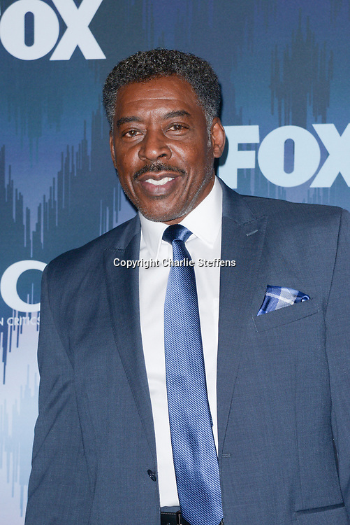 ERNIE HUDSON at the Fox Winter TCA 2017 All-Star Party at the Langham Hotel in Pasadena, California