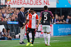 18-08-2019 NED: Feyenoord - FC Utrecht, Rotterdam Round 3 / Coach John van de Brom of FC Utrecht