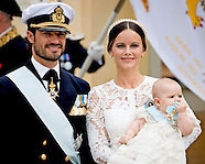 Prince Alexander's christening