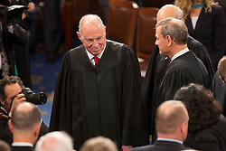 United States Supreme Court Associate Justice Anthony Kennedy arrives to listen to U.S. President Donald J. Trump address a joint session of Congress on Capitol Hill in Washington, DC, USA, February 28, 2017. Photo by Chris Kleponis/CNP/ABACAPRESS.COM