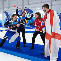 Mixed Doubles Curling Photocall