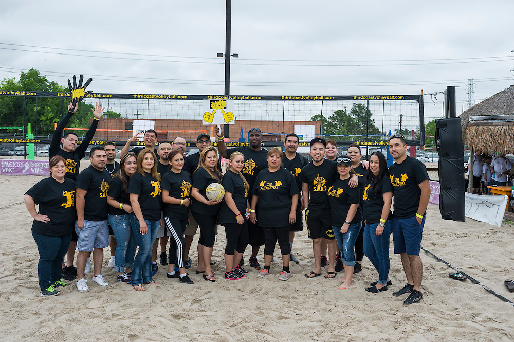HAA Volleyball Tournament held at Third Coast Volleyball on Friday, April 10, 2015.