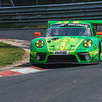 #1,  Porsche 911 GT3 R, Manthey Racing, drivers: Richard Lietz, Fred Makowiecki, Patrick Pilet, Nick Tandy at ADAC Total 24-Hour Race on 22.06.2019 at Nürburgring Nordschleife
