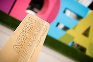 Ambiance for Booz Allen at the 2016 Aspen Ideas Festival in Aspen, CO. ©Brett Wilhelm