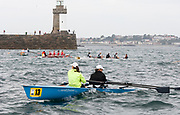 St Peter's Port, Guernsey, CHANNEL ISLANDS,  2006 British and International Coastal Rowing  Rowing Challenge, Ladies Classes, 02/09/2006.  Photo  Peter Spurrier, © Intersport Images,