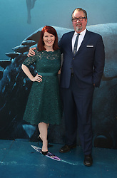 """HOLLYWOOD, CA - August 6: Cassie Scerbo, at Warner Bros. Pictures And Gravity Pictures' Premiere Of """"The Meg"""" at TCL Chinese Theatre IMAX in Hollywood, California on August 6, 2018. 06 Aug 2018 Pictured: Kate Flannery, Chris Haston. Photo credit: FS/MPI/Capital Pictures / MEGA TheMegaAgency.com +1 888 505 6342"""
