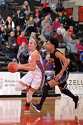 28 December 2017: State Farm Holiday Classic Coed Basketball Tournament at Normal Community High School in Normal IL<br /> <br /> SFHC - Large School Girls Normal West Wildcats v Morton Potters