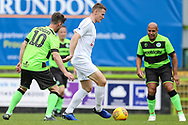 Trevor Horsley XI Yan Klukowski during the Trevor Horsley Memorial Match held at the New Lawn, Forest Green, United Kingdom on 19 May 2019.