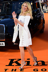 Kylie Minogue attending the World Premiere of Kingsman: The Golden Circle, at Cineworld in Leicester Square, London. Picture Date: Monday 18 September. Photo credit should read: Ian West/PA Wire
