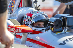 March 9, 2019 - St. Petersburg, Florida, U.S. - WILL POWER (12) of Australia prepares for a practice session for the Firestone Grand Prix of St. Petersburg at The Temporary Waterfront Street Course in St. Petersburg Florida. (Credit Image: © Walter G Arce Sr Asp Inc/ASP)