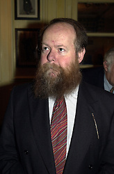 MR CHRISTOPHER HOWSE editor of obituaries on the Daily Telegraph, at a reception in London on 15th February 2000.OAY 15