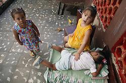 Girls in Havana nursery school,