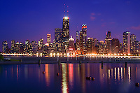 Downtown Chicago on Lake Michigan