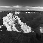 Vishnu Temple From The North Rim, Grand Canyon National Park