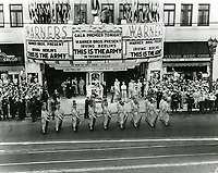 """1943 Premiere of Irving Berlin's """"This Is The Army"""" at Warner Bros. Theater"""