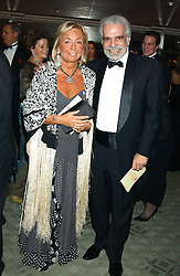 Actor OMAR SHARIF and COUNTESS NOEMI MARONE CINZANO at the Chain of Hope 10th Anniversary Ball held at The Dorchester, Park Lane, London on 1st November 2005.<br /><br />NON EXCLUSIVE - WORLD RIGHTS