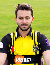 Jack Taylor of Gloucestershire Cricket poses for a headshot in the Royal London One Day Cup kit - Mandatory by-line: Robbie Stephenson/JMP - 04/04/2016 - CRICKET - Bristol County Ground - Bristol, United Kingdom - Gloucestershire  - Gloucestershire Media Day