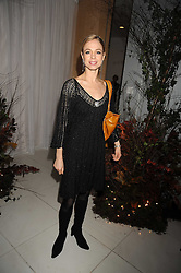 Dancer AGNES OAKES at a reception before the launch of the English National Ballet Christmas season launch of The Nutcracker held at the St,Martins Lane Hotel, London on 5th December 2008.