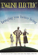 English Electric Company bringing you better life advert advertising in Country Life magazine UK 1951