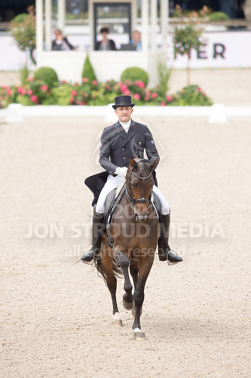 Henry Ludovic (FRA) & After You - Dressage Grand Prix - CDIO5 - CHIO Rotterdam 2016 - Kralingse Bos, Rotterdam, Netherlands - 23 June 2016