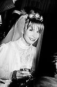 Alexandra Nalder at her marriage to Prince Obelensky. 32 Chesham Place 9/9 1982. © Copyright Photograph by Dafydd Jones 66 Stockwell Park Rd. London SW9 0DA Tel 020 7733 0108 www.dafjones.com