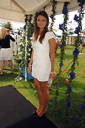 LADY NATASHA RUFUS-ISAACS at the Cartier International polo at Guards Polo Club, Windsor Great Park on 29th July 2007.<br /><br />NON EXCLUSIVE - WORLD RIGHTS
