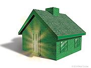 Energy Leakage, Remodeling, and Maintenance. Photoshop for National Association of Realtors Magazine.