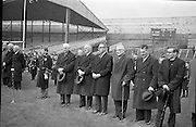 Former players remember the 14 who were shot dead in Croke Park on Bloody Sunday 1965 as they attended a Dublin v Tipp match. Among the dead were Tipperary fullback Michael Hogan, after whom the Hogan Stand is named.<br /> 21.11.1965